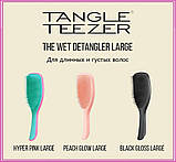 Расческа для волос Tangle Teezer Compact Styler компактная с крышкой Gold Leaf, фото 8