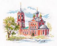 Набор для вышивки крестом Алиса 3-24 Переславль-Залесский. Сорокосвятская церковь