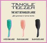 Гребінець для волосся Tangle Teezer Compact Styler компактна з кришкою Smashed Holo Blue, фото 8