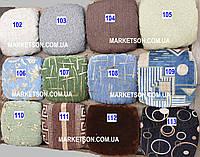 Чехлы на табуретки комплект 4 шт на резинке (сидушка на табурет, стул) №1