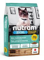 Корм холистик Nutram Ideal Solution Support Skin Coat Stomach 5.4 кг для кошек с чувствительным пищеварением