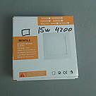 Светодиодная панель S01015.3 WW 180x180 3000K 15W, фото 3