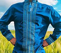 Вышиванка для парня или мужчины. Вышитая рубашка. Вишиванка чоловіча. Размер М