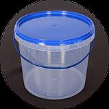 Ведро пластиковое, пищевое 5 л (упаковка 20 шт). Бесплатная доставка!, фото 3