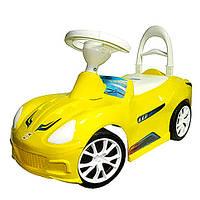 Каталка-толокар Спорт кар Желтая ( 160)