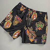 Мужские пляжные шорты Dolce&Gabbana CK620 черные