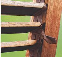 Поворотный механизм для изготовления деревянных ставней жалюзей с поворотными ламелями., фото 1
