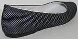 Балетки кожаные горох от производителя модель НИК100Б-3Р, фото 4