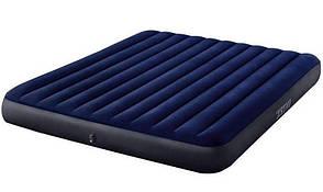 Надувной матрас Classic Downy Airbed Fiber-Tech, 183х203х25см Dura-Beam Standard 64755
