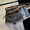Джинсові жіночі шорти