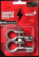 Клеммы СтартВольт (SBT 016) медь с цинковым покрытием, до 50мм обжим и пайка