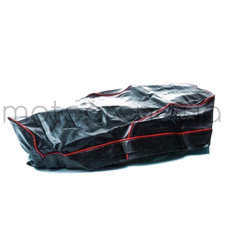 Чехол сиденья Ява 350 (634) 6V,красный кант,теснение