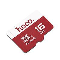 Карта пам'яті Hoco MicroSD 16GB Class 10