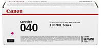 Тонер-картридж Canon 040 LBP-710/712 Magenta 5400 страниц