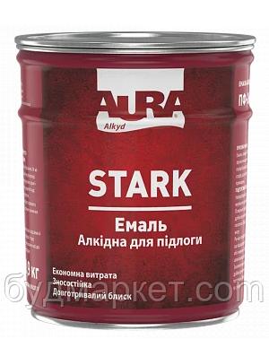 Эмаль ПФ-266 для пола  красно-коричневая №87  2,8кг Aura Stark