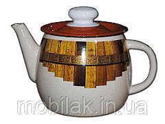 Чайник емальований 1,0л/4 Тин (І2707/4) ТМIDILIA