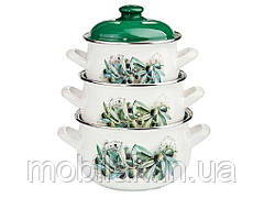 Набір ем. посуду 3-предмети кришки метал, Оливки (Т)15231 00074872 ТМINTEROS