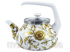 Чайник 2,2л бак ручка Золоте мереживо (Т)15170 00079825 ТМINTEROS