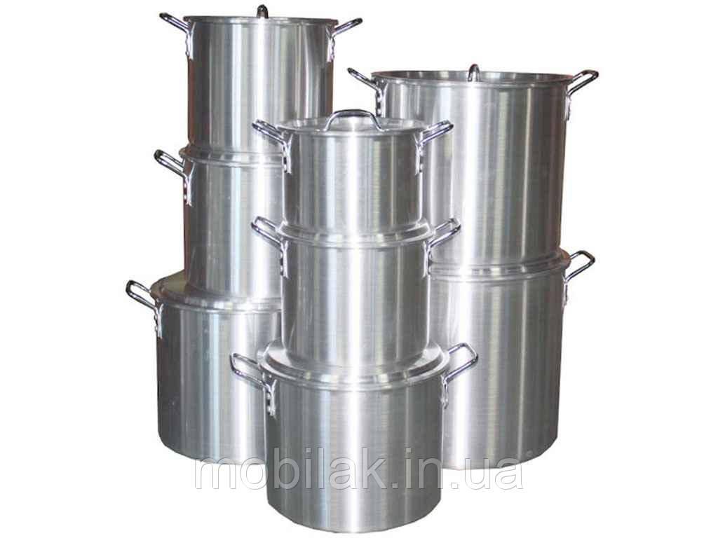 Набір алюмінієвих каструль (7,5-11,5-15-19-22-30-37-49л) FH-A852-8 ТМINTEROS