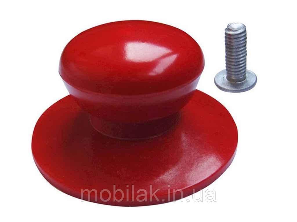 Ручка для кришки ебонітова Ø 35мм червона 9940 ТМEMPIRE