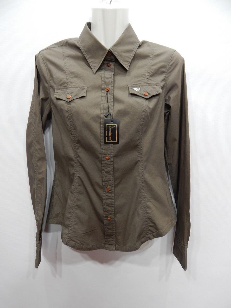 Блуза-сорочка фірмова жіноча ESPRIT (бавовна) р. 44-46 057бж