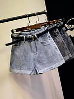 Джинсові жіночі шорти, фото 1