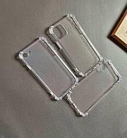 Прозрачный силиконовый чехол для IPhone X / XS