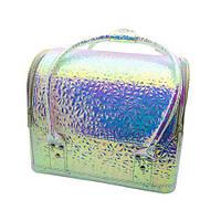 Сумка-чемодан для мастеров визажа, маникюра, парикмахера. Хамелеон