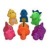"""Игрушки для купания """"Динозавры"""" (6 шт.)"""