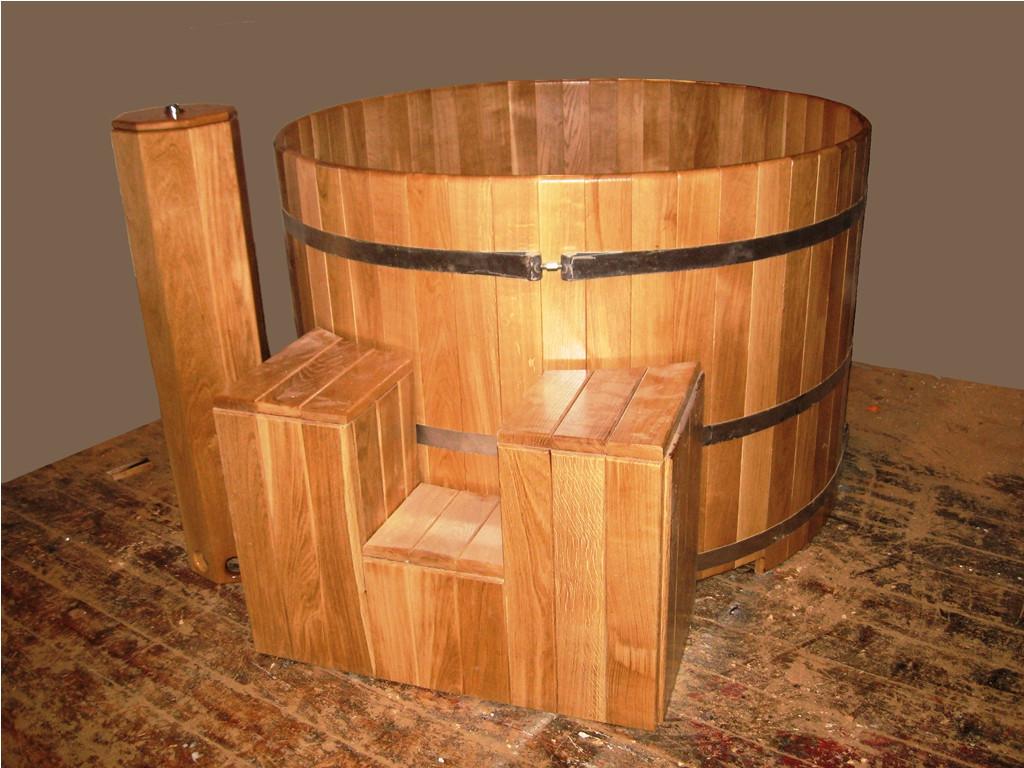 Бочка деревянная купель Люкс