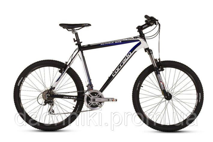 """Велосипед CORRADO ALTURIX VB MTB 26"""" 16"""" Черный/Белый, фото 2"""