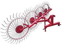 Грабли к трактору ворошилки 4-колесные (Н)