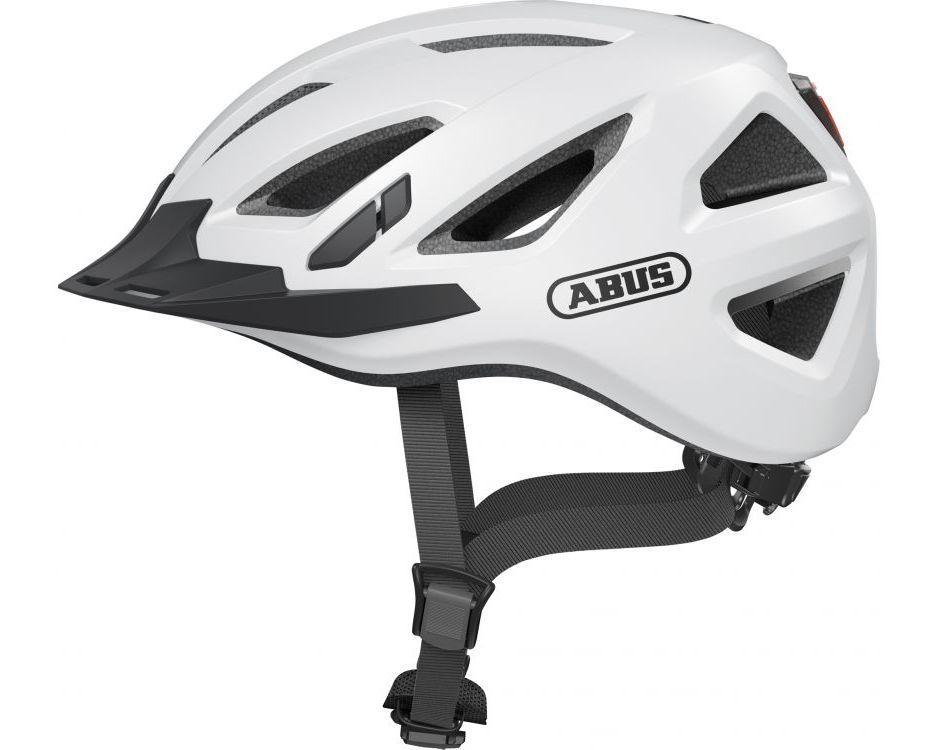 Шолом велосипедний ABUS URBAN-I 3.0 XL 61-65 Polar White