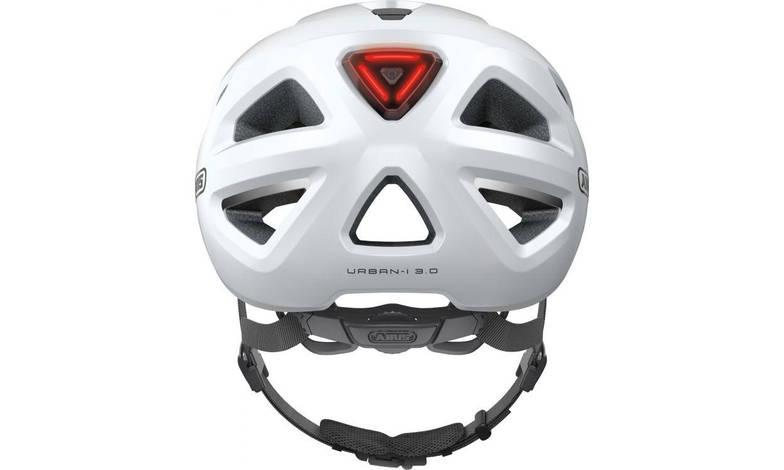 Шолом велосипедний ABUS URBAN-I 3.0 XL 61-65 Polar White, фото 3