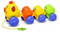 Музыкальная каталка BeBeLino Курочка с цыплятами (58027)
