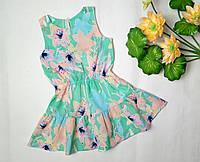 Нарядное летние платья для девочки ТМ Бемби