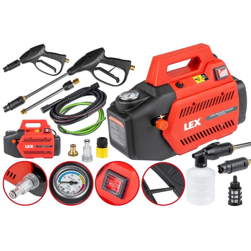 Мийка високого тиску LEX LXHPW70-25