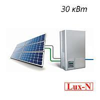 """Мережева сонячна електростанція 30 кВт, 380 В, під """"зелений тариф"""". (комплект обладнання), фото 1"""