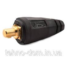 Штекер сварочный (Байонет папа) 10-25 мм