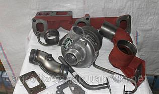 Комплект переоборудования трактора МТЗ-80 под турбокомпрессор