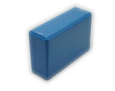 Блок для йоги, растяжки (Синий)