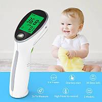 Бесконтактный термометр для тела YONKER YK-IRT2 инфракрасный медицинский электронный цифровой