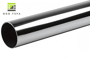 Нержавеющая труба круглая 204 х 2 мм aisi 304 матовая 08Х18Н10 кислотостойкая, фото 2