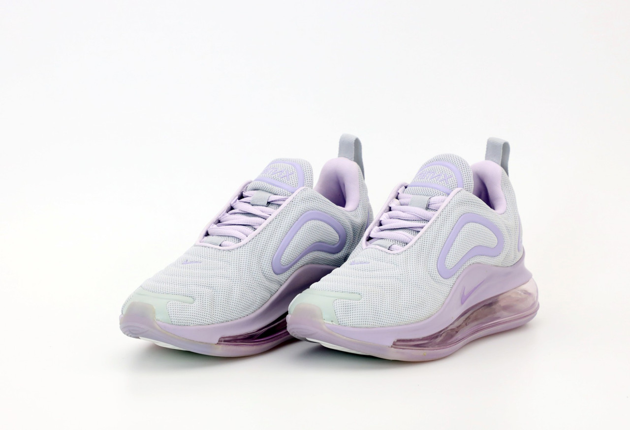 Женские кроссовки Nike Air Max 720 в стиле найк аир макс белые (Реплика ААА+)