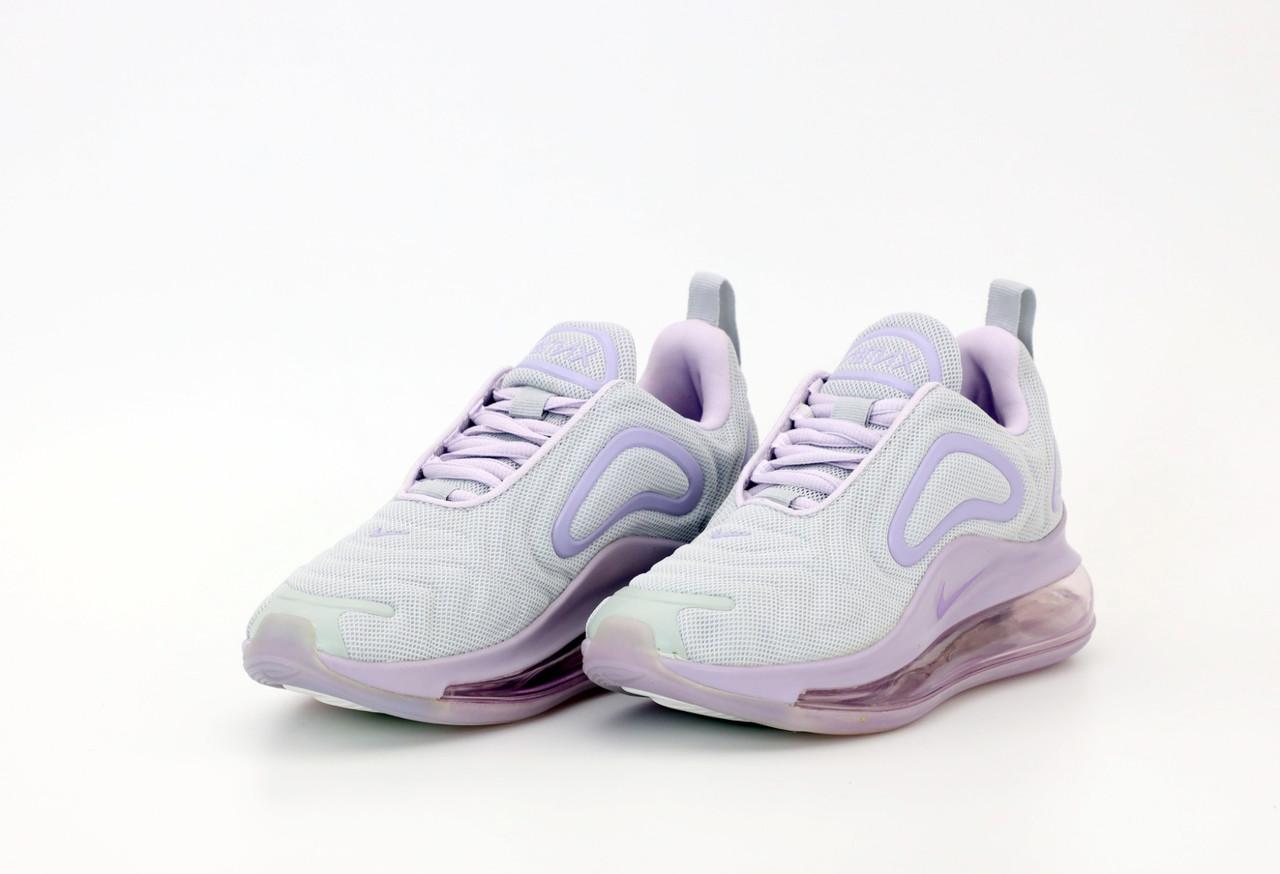 Жіночі кросівки Nike Air Max 720 в стилі найк аір макс білі (Репліка ААА+)