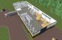 Разработка проектной документации. Строительство хранилищ, складских помещений, холодильных камер «под ключ».