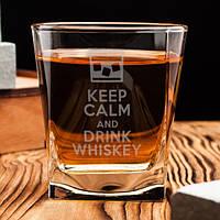 Стакан для виски Keep calm and drink whiskey 250 мл (5457), фото 1
