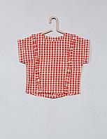Блуза для девочки Kiabi 74 размер красная, фото 1