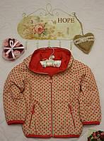 Куртка детская Двухсторонняя в горошек, фото 1