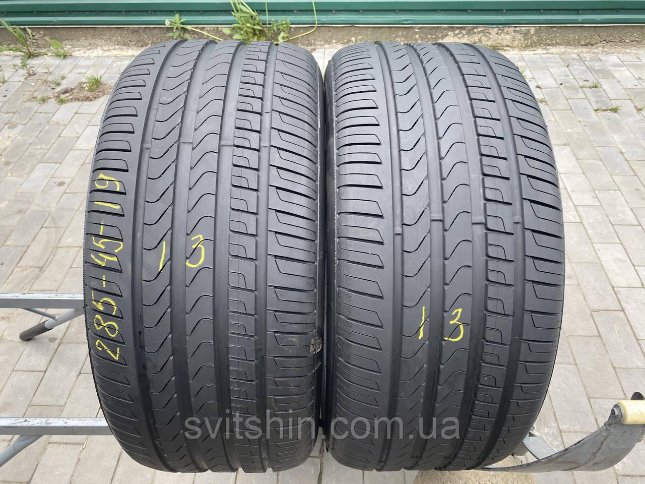 Шини літо 285/45R19 Pirelli RUNFLAT 6,5мм (2шт)